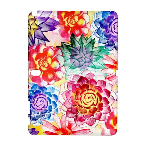 Colorful Succulents Samsung Galaxy Note 10.1 (P600) Hardshell Case