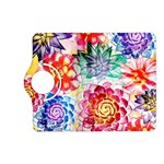 Colorful Succulents Kindle Fire HD (2013) Flip 360 Case Front