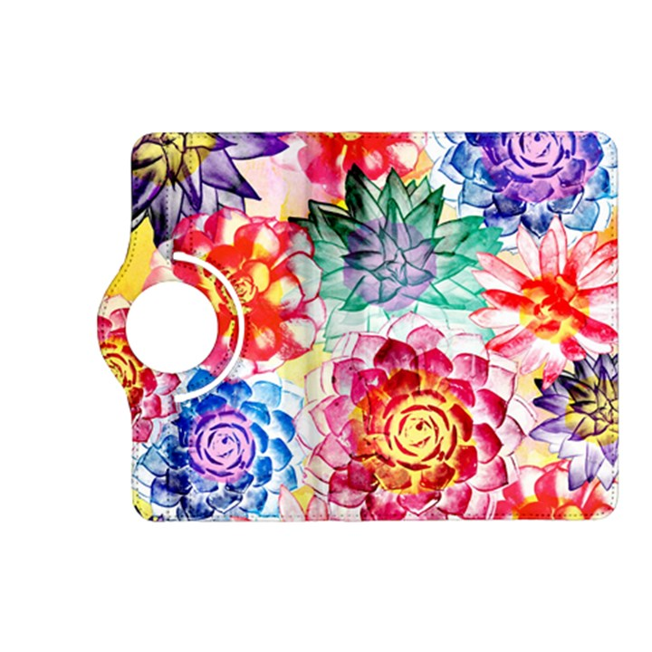 Colorful Succulents Kindle Fire HD (2013) Flip 360 Case