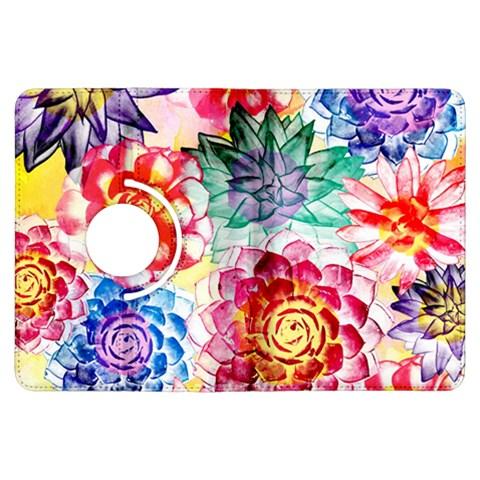 Colorful Succulents Kindle Fire HDX Flip 360 Case