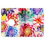 Colorful Succulents Kindle Fire HDX Flip 360 Case Front