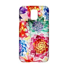 Colorful Succulents Samsung Galaxy S5 Hardshell Case