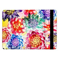 Colorful Succulents Samsung Galaxy Tab Pro 12 2  Flip Case