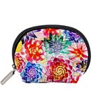 Colorful Succulents Accessory Pouches (Small)  Front