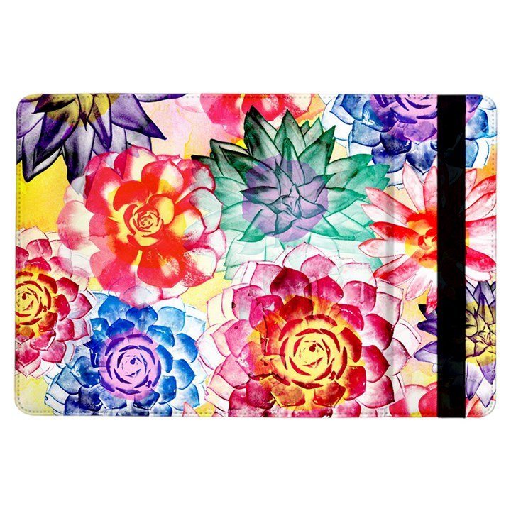 Colorful Succulents iPad Air Flip