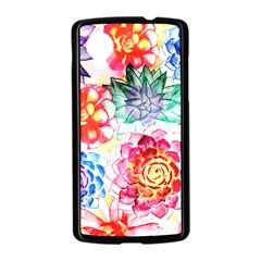 Colorful Succulents Nexus 5 Case (Black)
