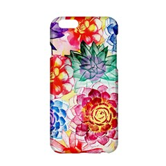 Colorful Succulents Apple iPhone 6/6S Hardshell Case