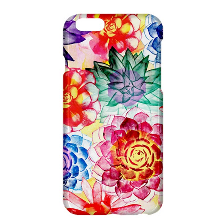 Colorful Succulents Apple iPhone 6 Plus/6S Plus Hardshell Case