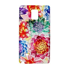 Colorful Succulents Samsung Galaxy Note 4 Hardshell Case