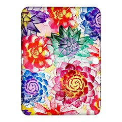 Colorful Succulents Samsung Galaxy Tab 4 (10 1 ) Hardshell Case