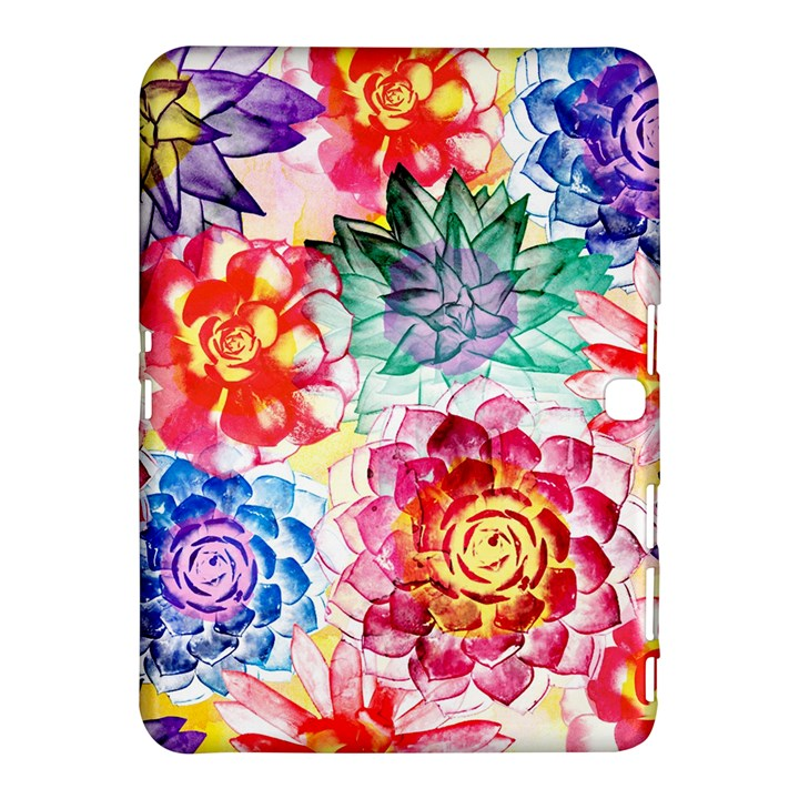 Colorful Succulents Samsung Galaxy Tab 4 (10.1 ) Hardshell Case