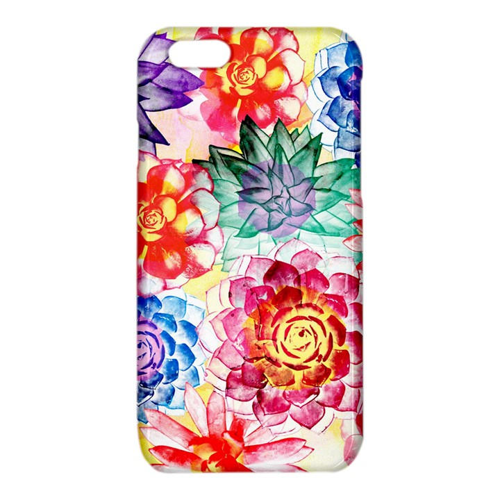 Colorful Succulents iPhone 6/6S TPU Case