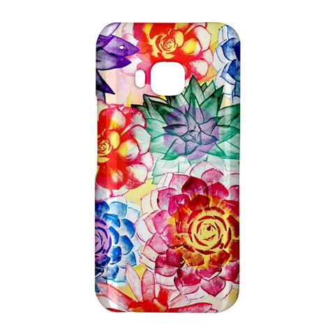 Colorful Succulents HTC One M9 Hardshell Case