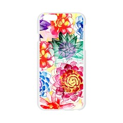 Colorful Succulents Apple Seamless iPhone 6/6S Case (Transparent)