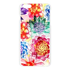 Colorful Succulents Apple Seamless iPhone 6 Plus/6S Plus Case (Transparent)