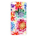 Colorful Succulents Apple Seamless iPhone 6 Plus/6S Plus Case (Transparent) Front