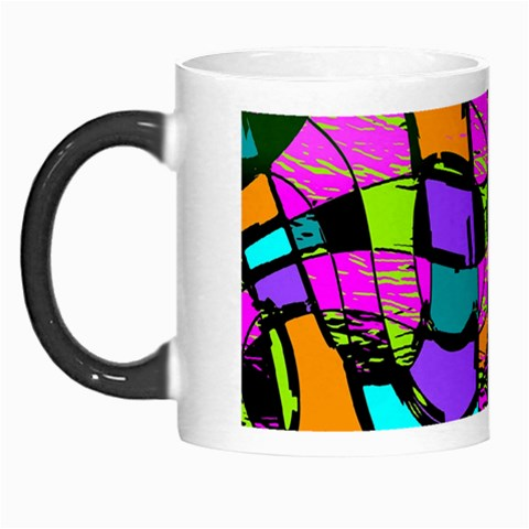 Abstract Sketch Art Squiggly Loops Multicolored Morph Mugs