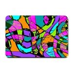 Abstract Sketch Art Squiggly Loops Multicolored Small Doormat  24 x16 Door Mat - 1