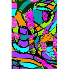 Abstract Sketch Art Squiggly Loops Multicolored 5 5  X 8 5  Notebooks
