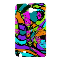 Abstract Sketch Art Squiggly Loops Multicolored Samsung Galaxy Note 1 Hardshell Case