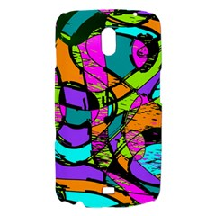 Abstract Sketch Art Squiggly Loops Multicolored Samsung Galaxy Nexus i9250 Hardshell Case