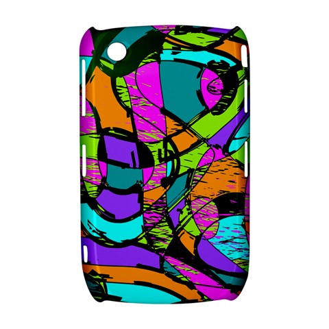 Abstract Sketch Art Squiggly Loops Multicolored Curve 8520 9300