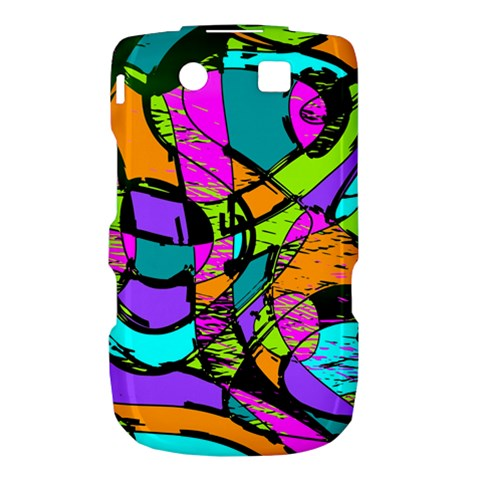 Abstract Sketch Art Squiggly Loops Multicolored Torch 9800 9810