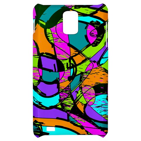 Abstract Sketch Art Squiggly Loops Multicolored Samsung Infuse 4G Hardshell Case