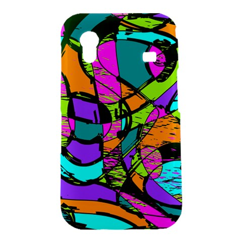 Abstract Sketch Art Squiggly Loops Multicolored Samsung Galaxy Ace S5830 Hardshell Case