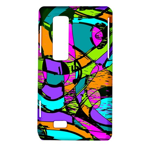Abstract Sketch Art Squiggly Loops Multicolored LG Optimus Thrill 4G P925