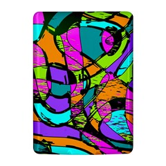 Abstract Sketch Art Squiggly Loops Multicolored Kindle 4