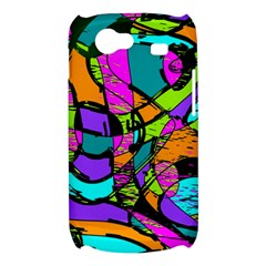 Abstract Sketch Art Squiggly Loops Multicolored Samsung Galaxy Nexus S i9020 Hardshell Case