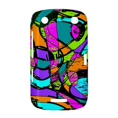 Abstract Sketch Art Squiggly Loops Multicolored BlackBerry Curve 9380