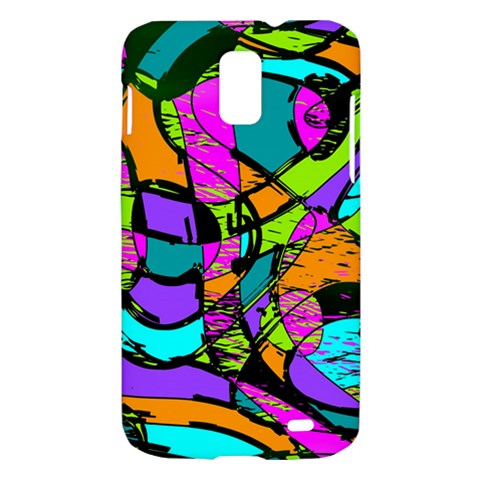 Abstract Sketch Art Squiggly Loops Multicolored Samsung Galaxy S II Skyrocket Hardshell Case
