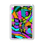 Abstract Sketch Art Squiggly Loops Multicolored iPad Mini 2 Enamel Coated Cases Front