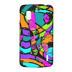 Abstract Sketch Art Squiggly Loops Multicolored LG Nexus 4