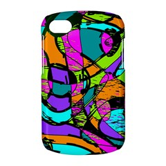Abstract Sketch Art Squiggly Loops Multicolored BlackBerry Q10