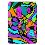 Abstract Sketch Art Squiggly Loops Multicolored Flap Covers (S)  Front