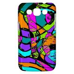 Abstract Sketch Art Squiggly Loops Multicolored Samsung Galaxy Win I8550 Hardshell Case