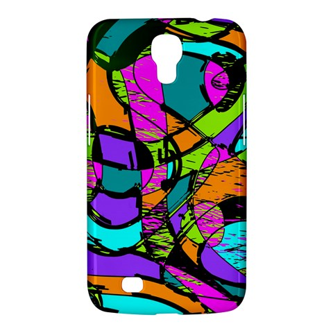 Abstract Sketch Art Squiggly Loops Multicolored Samsung Galaxy Mega 6.3  I9200 Hardshell Case