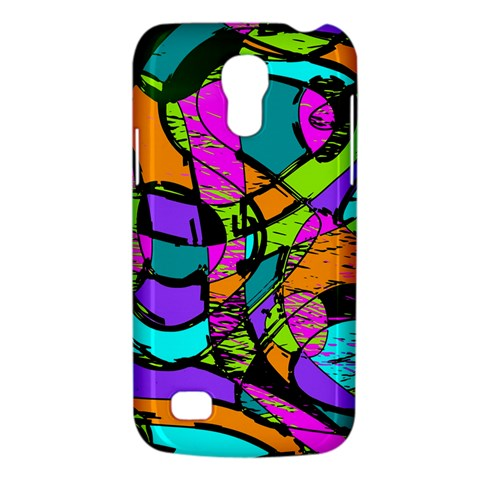 Abstract Sketch Art Squiggly Loops Multicolored Galaxy S4 Mini