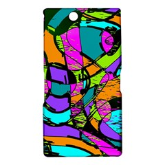 Abstract Sketch Art Squiggly Loops Multicolored Sony Xperia Z Ultra