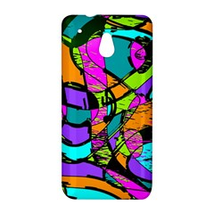 Abstract Sketch Art Squiggly Loops Multicolored HTC One Mini (601e) M4 Hardshell Case