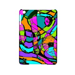 Abstract Sketch Art Squiggly Loops Multicolored Ipad Mini 2 Hardshell Cases