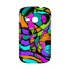 Abstract Sketch Art Squiggly Loops Multicolored Samsung Galaxy S6310 Hardshell Case