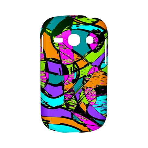 Abstract Sketch Art Squiggly Loops Multicolored Samsung Galaxy S6810 Hardshell Case