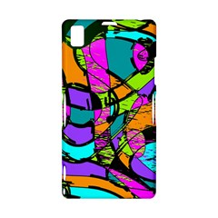 Abstract Sketch Art Squiggly Loops Multicolored Sony Xperia Z1
