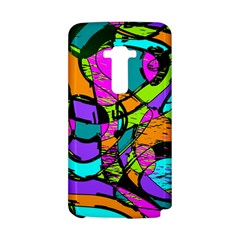 Abstract Sketch Art Squiggly Loops Multicolored LG G Flex