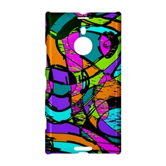 Abstract Sketch Art Squiggly Loops Multicolored Nokia Lumia 1520