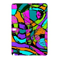 Abstract Sketch Art Squiggly Loops Multicolored Samsung Galaxy Tab Pro 10 1 Hardshell Case
